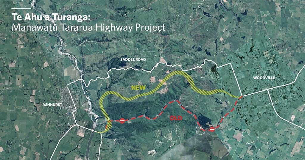 Te Ahu A Turanga  (Manawatu Tararua Highway)