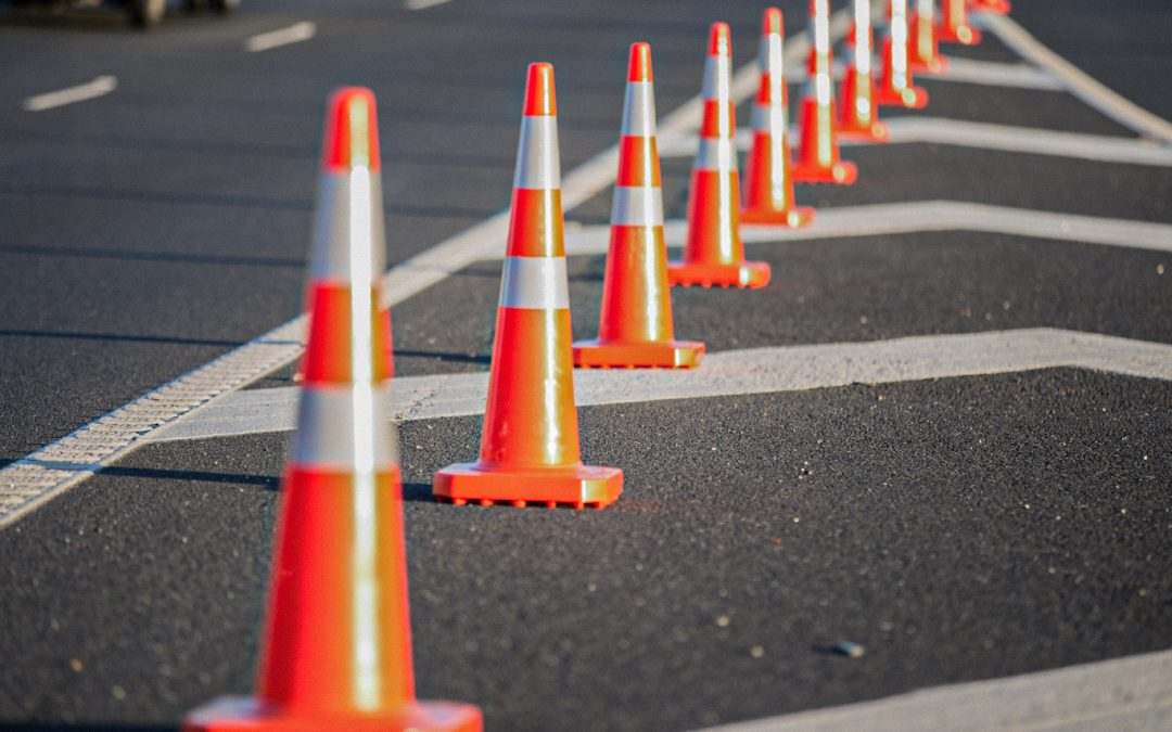 Temporary traffic management Cones